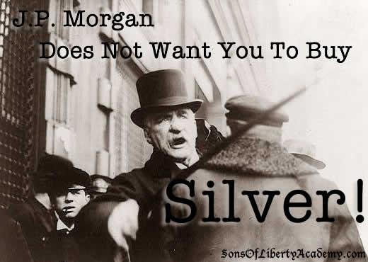 JP Morgan Silver
