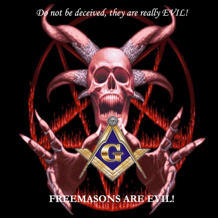 Zionist Devil Symbol