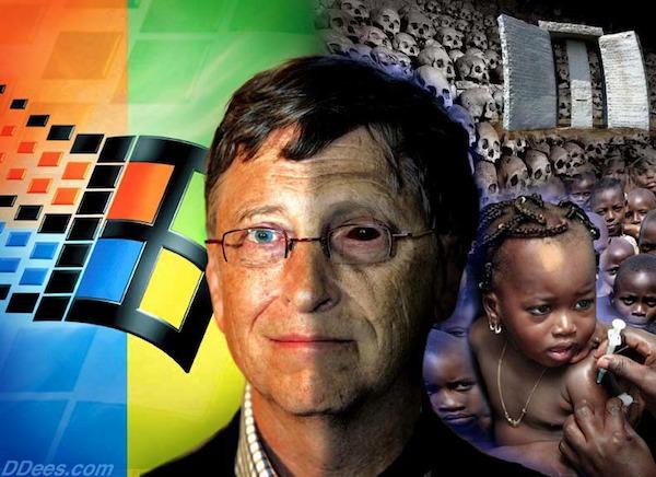 Rothschild Czar Bill Gates Child Killer