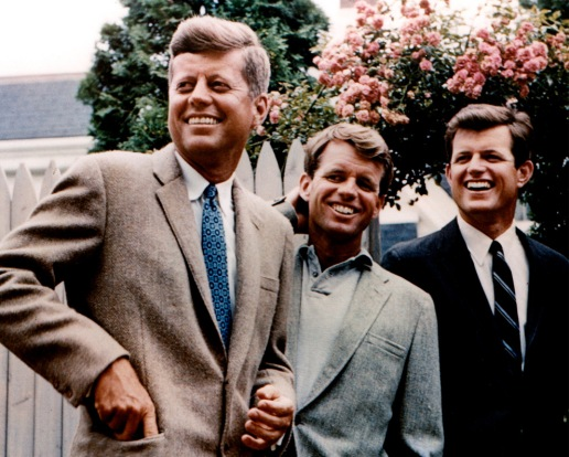 JOHN {PATRIOT}, ROBERT {PATRIOT}, EDWARD {TURNCOAT} KENNEDY!
