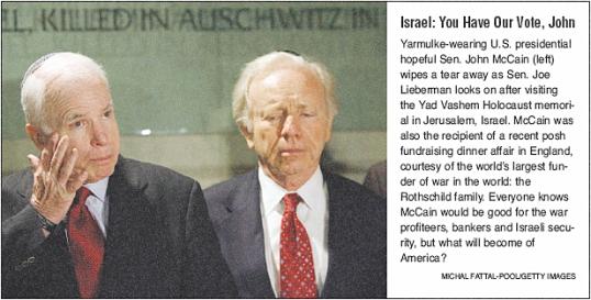 McCain & Lieberman's Secret Rendezvous To Rothschild Waddesdon Manor.