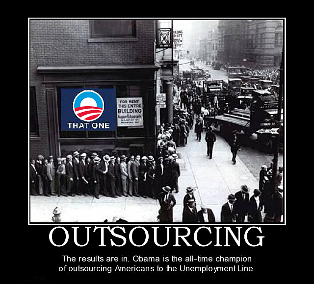 outsourcing obama