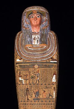 sarcophagus, coffin