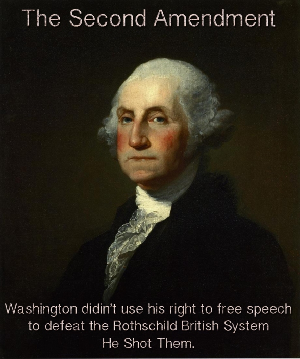 Second Amendment Gun  George Washington