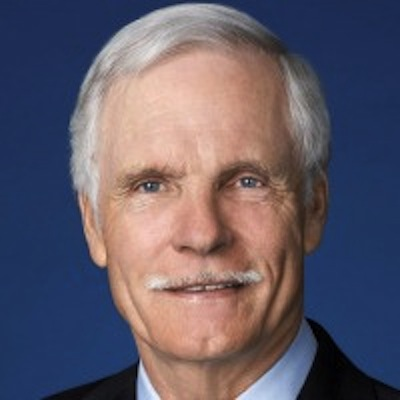 Ted Turner, founder of CNN and Turner Broadcasting System.