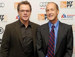 Liberal Matt Damon Narrator & CFR agent Charles Fergusson