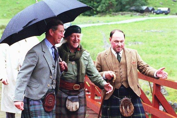 BBC entertainer Jimmy Savile & Prince Charlie