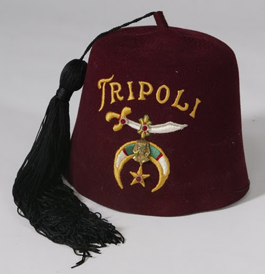 Arab Freemason Hat Of The Shriners.