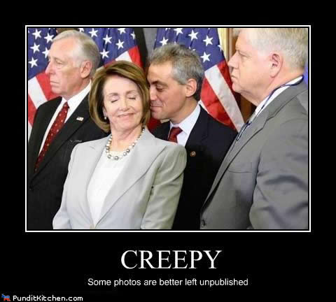 Corrupt Government Arrested: Entire Illinois County Board Arrested By Sheriff Following Initial Citizens Arrest By 2 Military Veterans. Political-pictures-pelosi-emanuel-creepy-unpublished