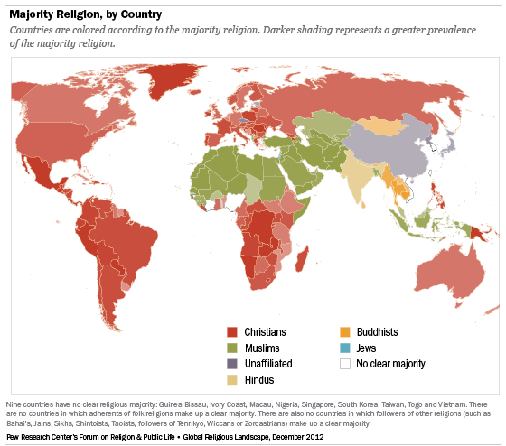 world-map-all-religions
