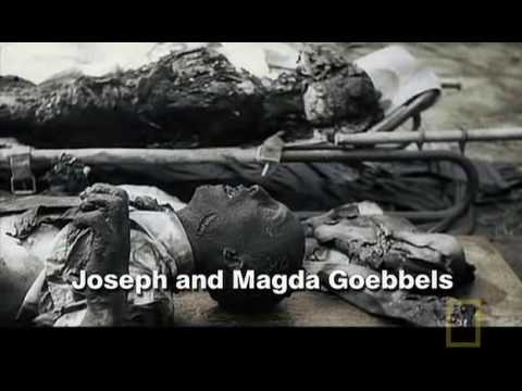 Charred Bodies Of Magda & Joseph Goebels