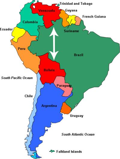 Bolivia Venezuela