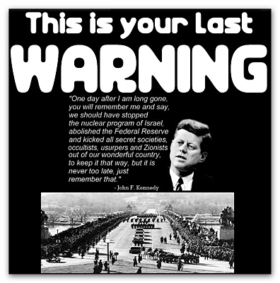 UFAA: United Front Against 'Austerity' aka; 'Rothschildism'. Jfk-warning