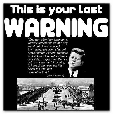 JFK Warning
