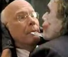 Senator Leahy is the kind of guy who makes cameos in blockbuster films. He appeared in 1997's Batman and Robin, 2012's The Dark Knight Rises, and 2008's The Dark Knight