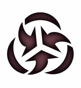 Logo of uber-rich financial arch-criminal Rockefeller family's Trilateral Commission. HQ District of Columbia (Washington), Chairman Joseph S. Nye, Jr.; HQ Paris, French Republic; European Union (EU), Chairman Mario Monti; HQ Tokyo, Japan, Chairman Yotaro Kobayashi