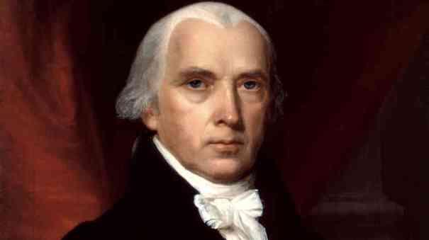 Founding Father President James Madison