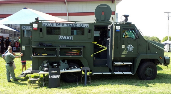 Passaic County's now ready to meet the War on Terror — or a more routine domestic hostage case — with 17,000 pounds of rolling steel, bullet-proof glass, and a machine gun turret.
