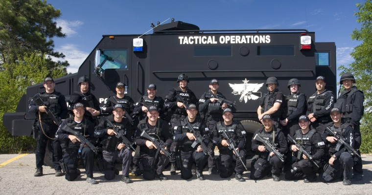 Sheriff's Swat Tactical Team