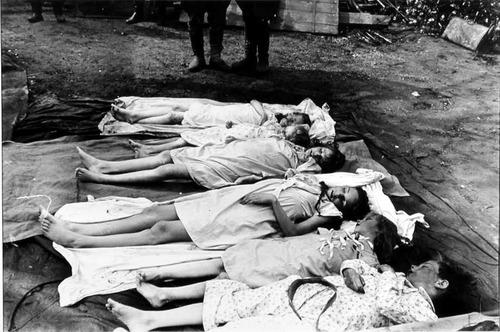 Dead Bodies Of The Goebbels Children