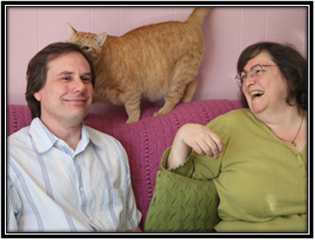 This Is Snopes: Mom & Pop Shop = David and Barbara Mikkelson With Cat. George Soros and Leftists Fund it.