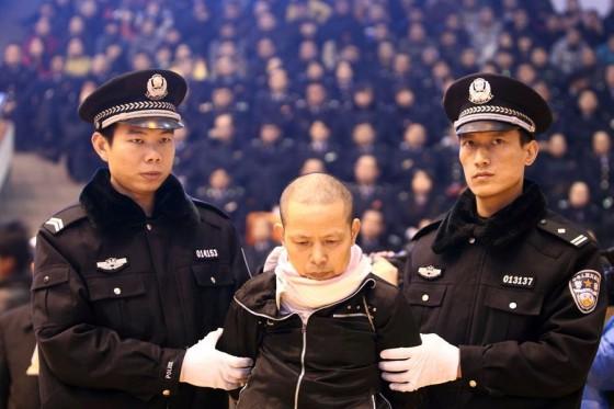 China Executes Bankers