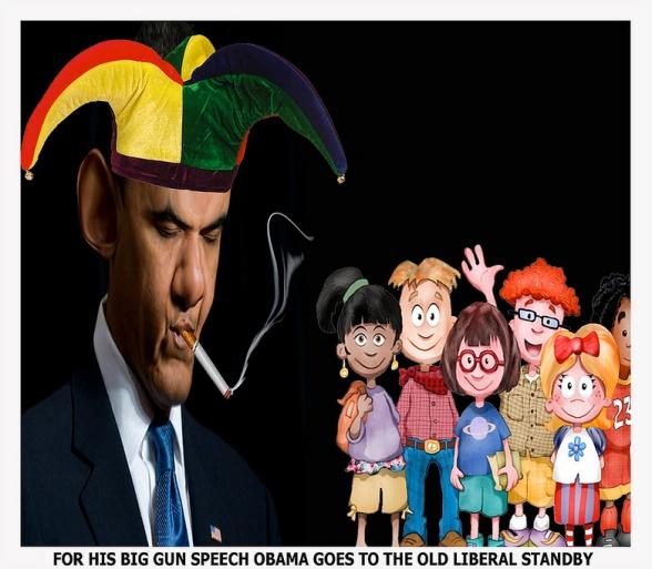 gun child obama