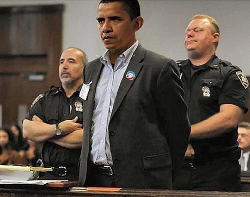 obama jail arrested