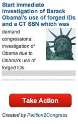 Obama Petition