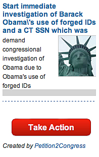 Obama Petition