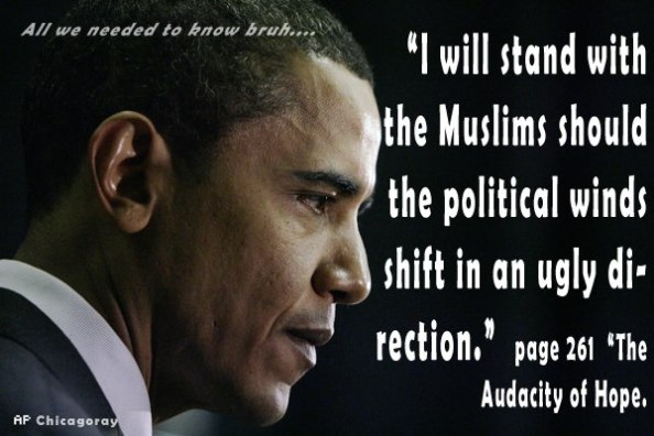 U.S. Warns Americans From Travelling To Iraq: Obama Annexes Anbar Region In Iraq To Infiltrate Syria.  Obama-with-muslims