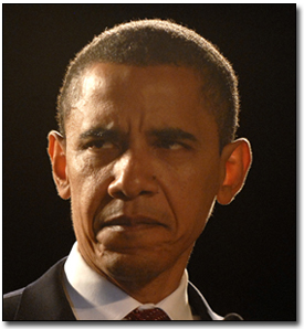 When criticized, Obama's soul can be seen in his eyes.