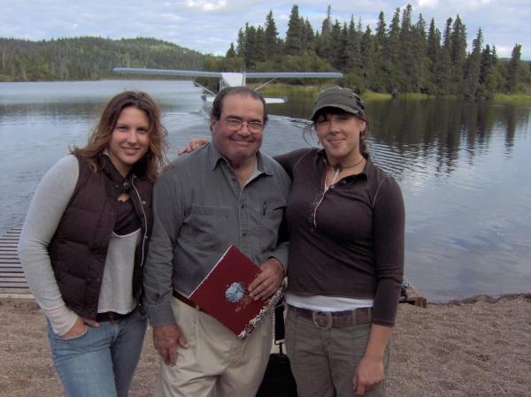 U.S. Supreme Court Justice Scalia With Family.