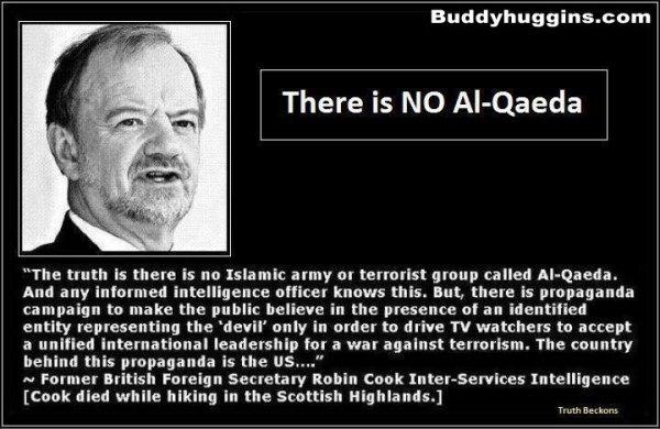 There is NO AL- Qaeda Robin Cook