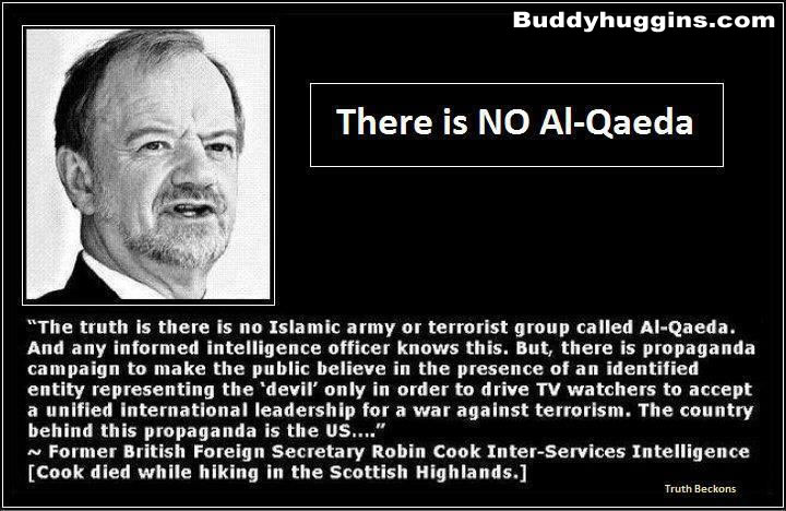 There is NO AL- Qaeda Robin Cook
