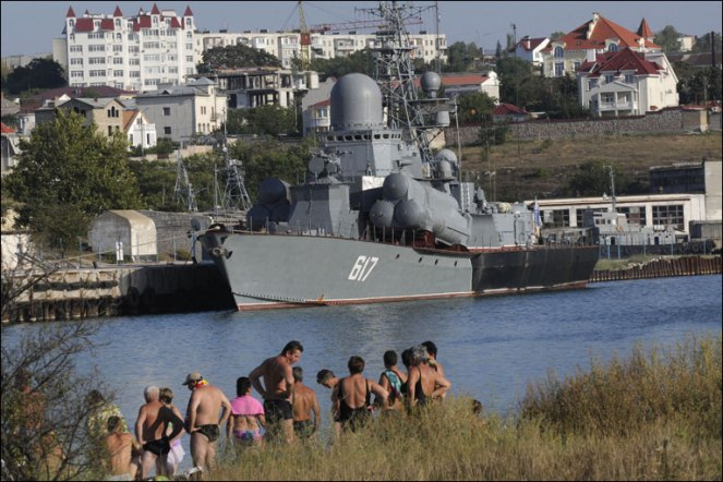 Russia's Black Sea Navy!