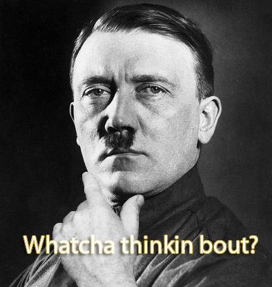 hitler thinking