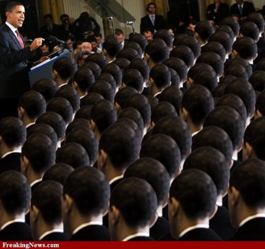 Obama zombies propaganda
