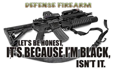 Defense Firearm Black