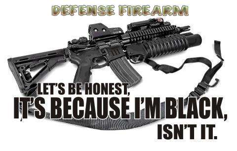 Defense Firearm Black