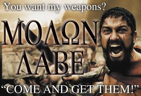 molon-labe gun