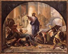 Pope Francis: Antitrust Money Hoarding ~ Urged The Unemployed To Fight For Work.  Money-changers-jn-2-raymond-balze