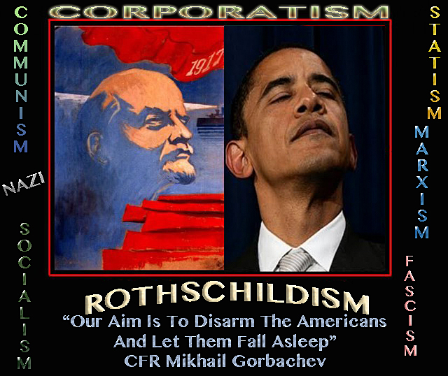 ROTHSCHILD CORRUPTION GOES MAINSTREAM Obama-communism