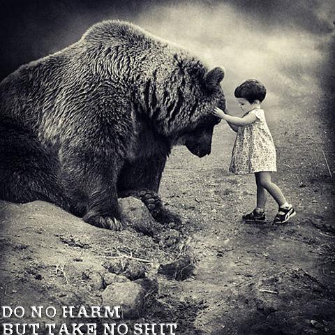 TAKE NO SHIT