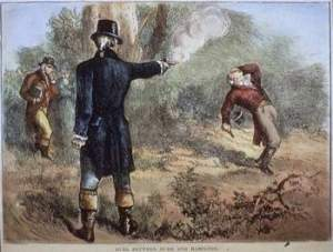 The Shooting Of A Rothschild Czar. First Traitor Of The United States Is The Piece Of Shit Alexander Hamilton.