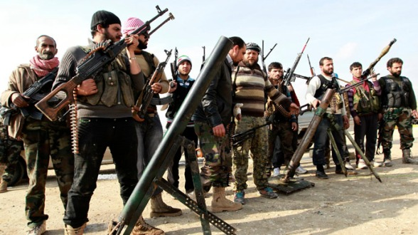 Rothschild's Syrian Army fighters ~ (Reuters A Rothschild Company)