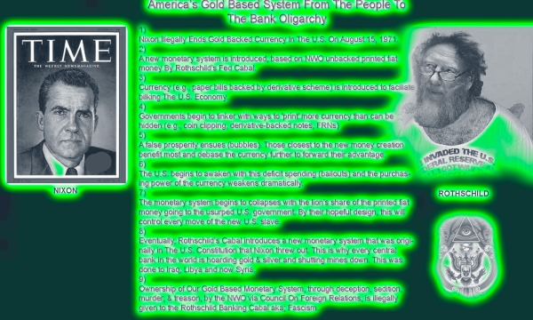~ Click To Enlarge ~ Nixon Was The Beginning Of The Final Take Down NWO Idea.