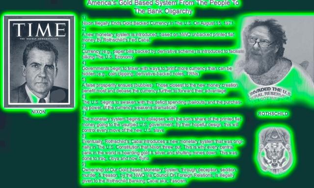AMERICAN PSYCHOLOGICAL ASSOCIATION & ILLUMINATI COERCION: PLAYING BOTH SIDES OF DARWIN! Bank-oligarchy-green