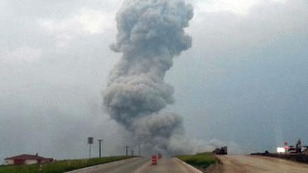 Monsanto Missile Strike  2013 Waco Texas