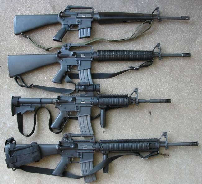 M16 gun